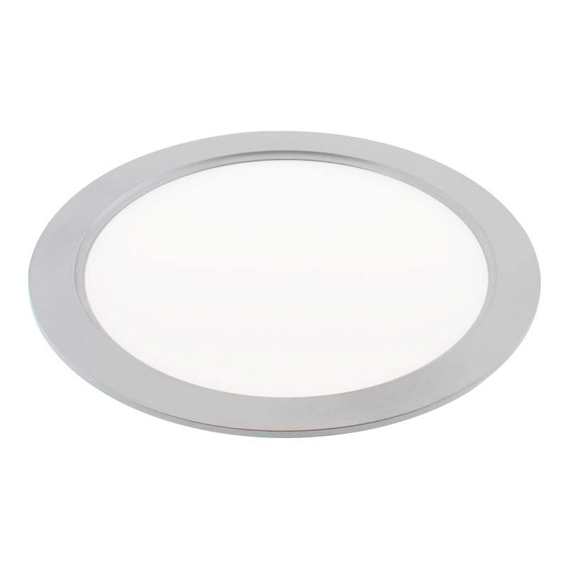 Downlight Led FROSVIK, 18W, Silver, Blanco cálido